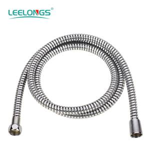 SH-6608 Yuyao Factory 1.5M White PVC Spiral Flexible Hose For Hand Shower