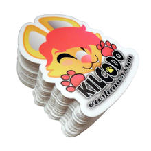 removable mirror wall cartoon rabbit sticker