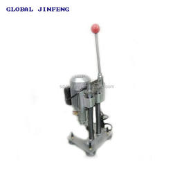 GLOBAL JINFENG cheap and manual glass drilling hole machine