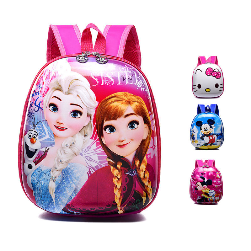 Fashion children's schoolbag EVA hard shell material toddler backpack cartoon 2-3-5 year old anime character backpack