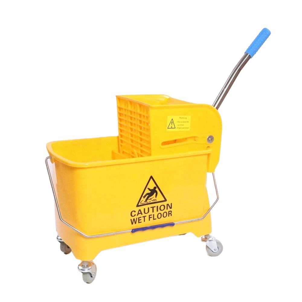 Hygienic High Quality Commercial Heavy-Gauge mop bucket wringer heavy duty Water Truck