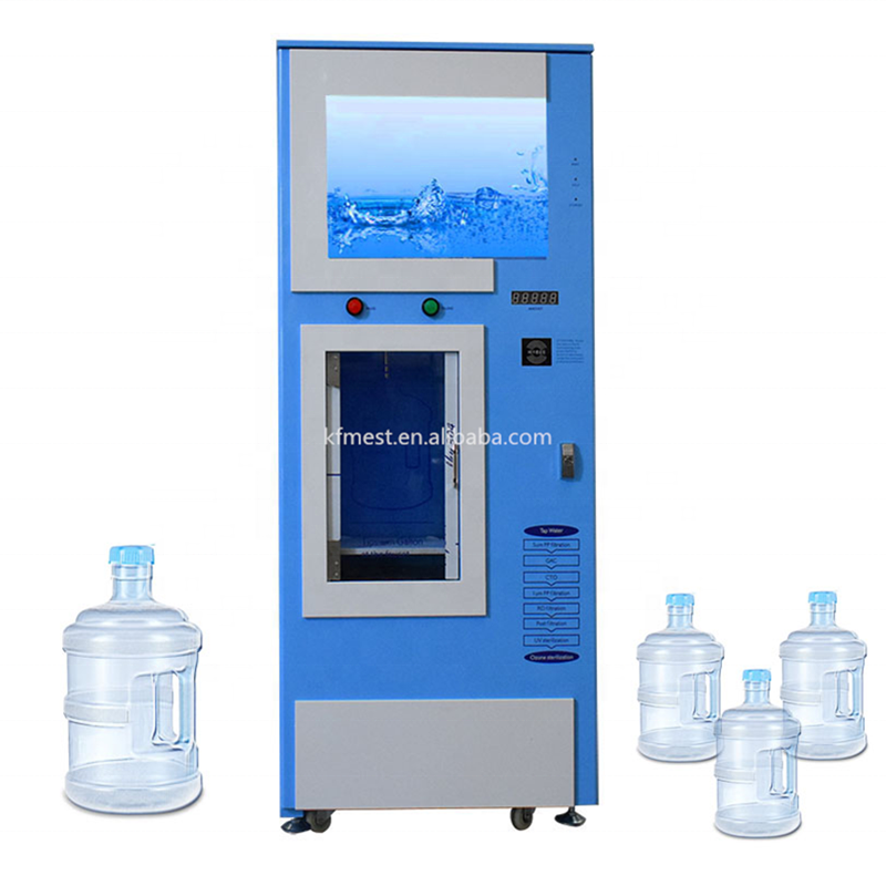 Automatic Self-service Alkaline Water Vending Machine Water Vending Machines For Purified Water