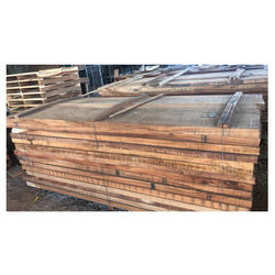 Wholesale Natural Outdoor Solid Hard Raintree Wood Timber Panel