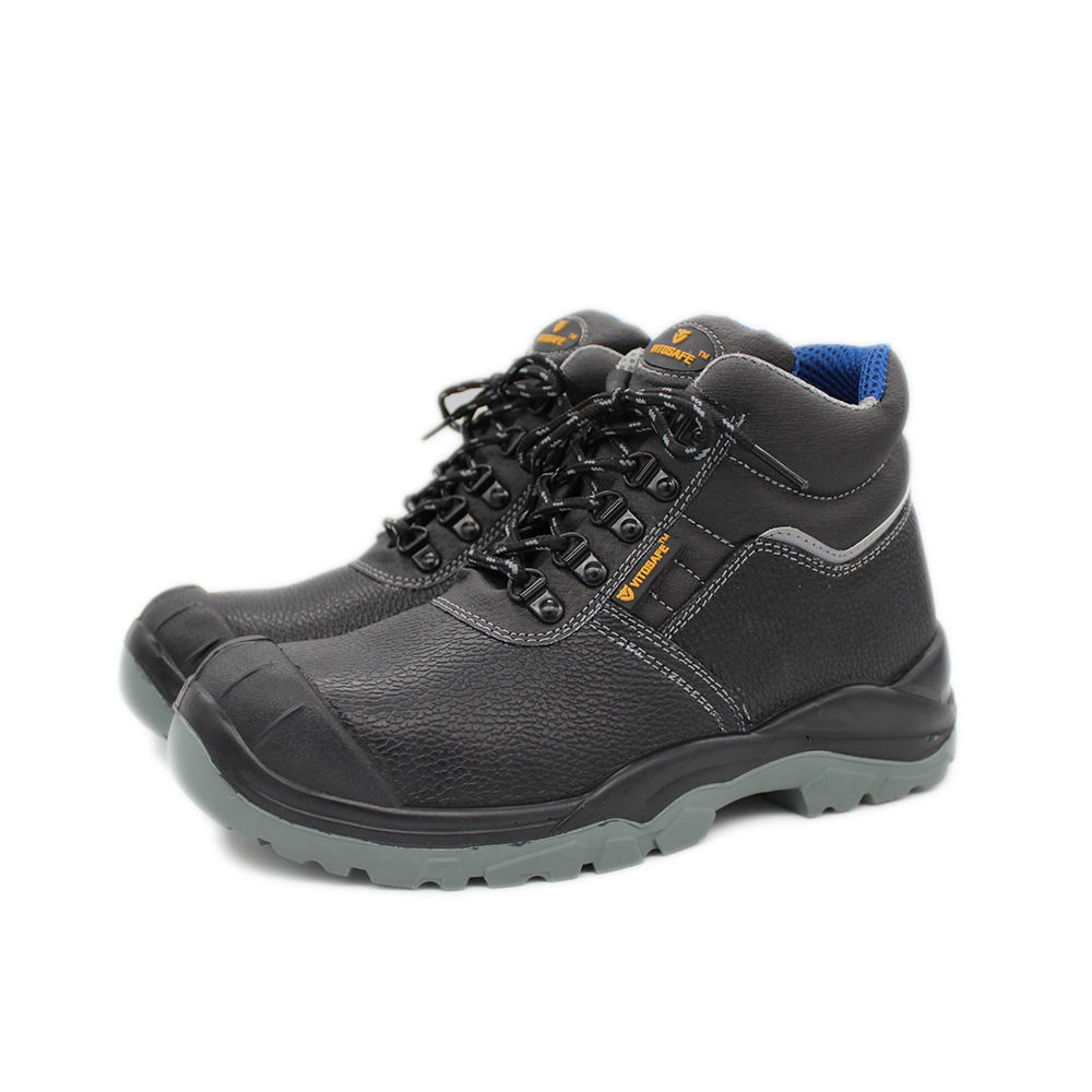 Sri lanka price rockrooster jogger safe oil resistant steel toe used black leather men work safety shoes boots made in india
