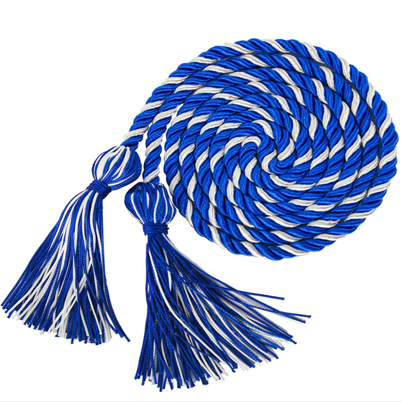 Factory Direct Hot sales Gold Colour 67inch Honor Cord Graduation Tassel