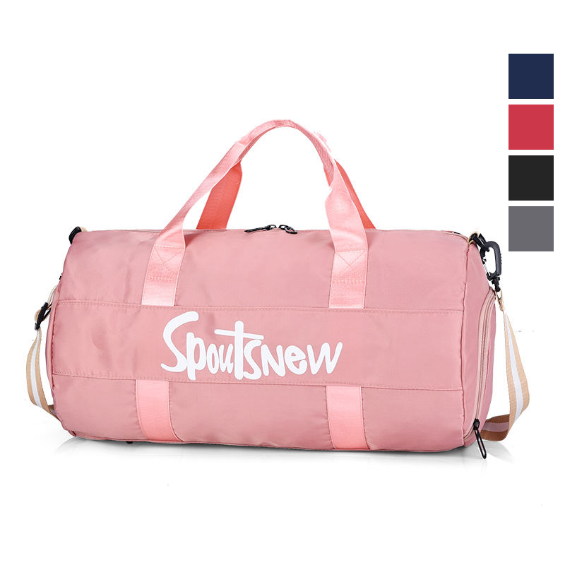 Oem Wholesale Custom Print Sports Duffel Ladies Shoe Mens Travel Bags