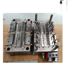 Customized plastic injection mould for lotion pump cosmetic dispenser pump mould manufacturers