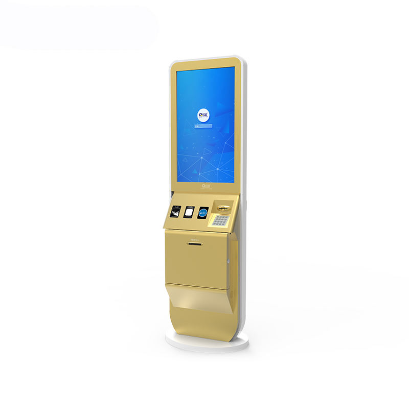 High Quality Customized Touch Hotel Check in Self service terminal payment kiosk for Hotels