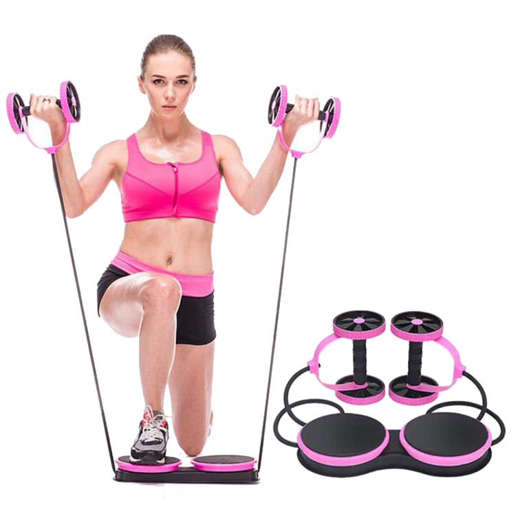 China Factory Customized High Quality Revoflex Xtreme Abs Wheel Roller For Core Workout