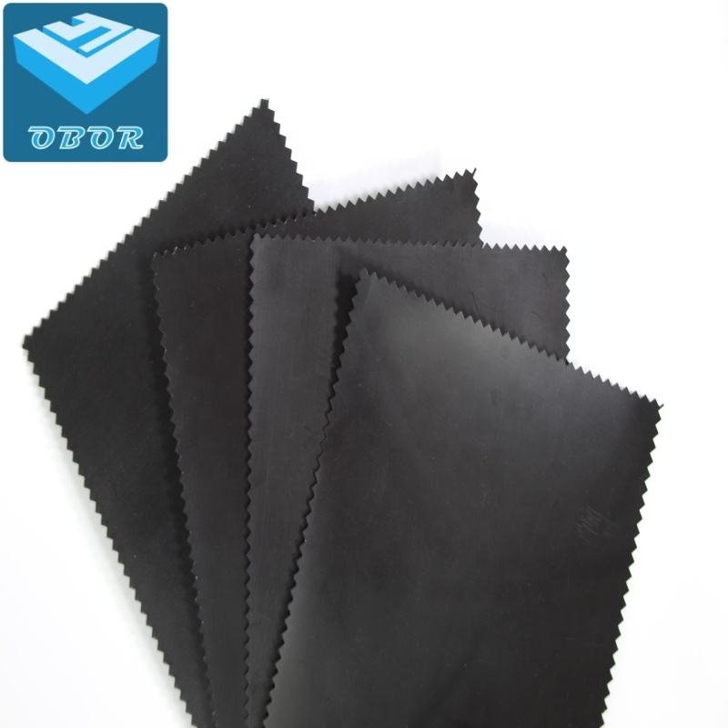 Waterproofing HDPE smooth black geomembrane membrane film Fish farm pool lake dam pond liner low price
