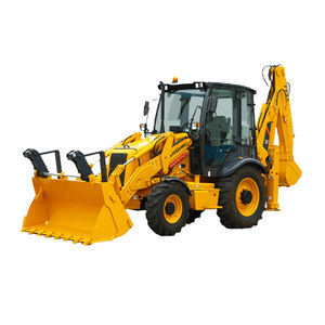 Guangxi LIUGONG CLG777 mini wheel loader and backhoe with parts factory price for sale