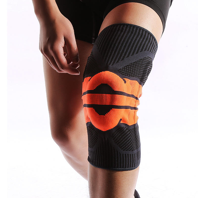 Outdoor Sports Knee Protector Lifting Knee Sleeves Wrap High Elasticity Spandex Knee Support