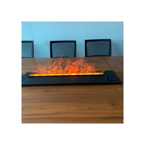 Parts Double Sided Led Fireplace Logs Electric Fireplace Heater For