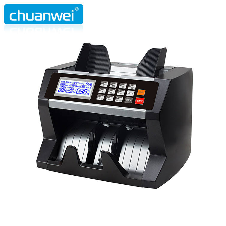 AL-170 euro usd Mix Value Currency Counter Note Counting Machine