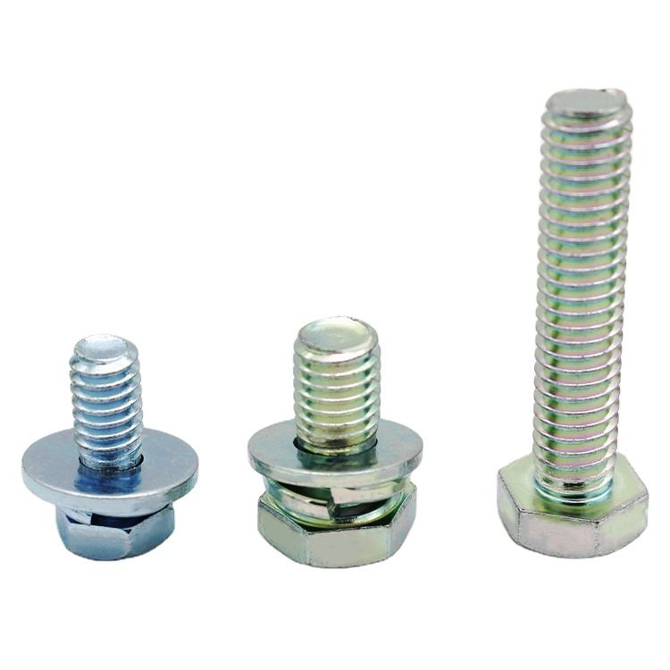 China Supplier 10.9 Bolts And Lock Nuts Set Machine Screw Fasteners