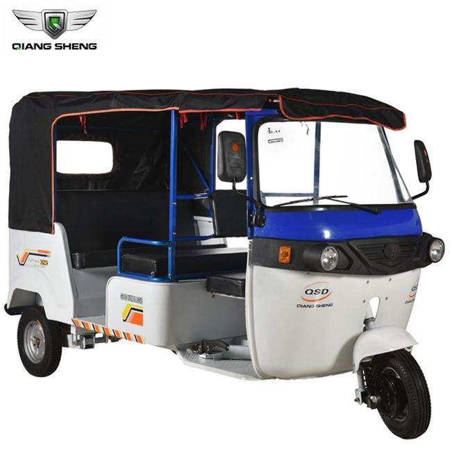 Green Power Simple Design Electric Tricycle Rickshaw For India Market
