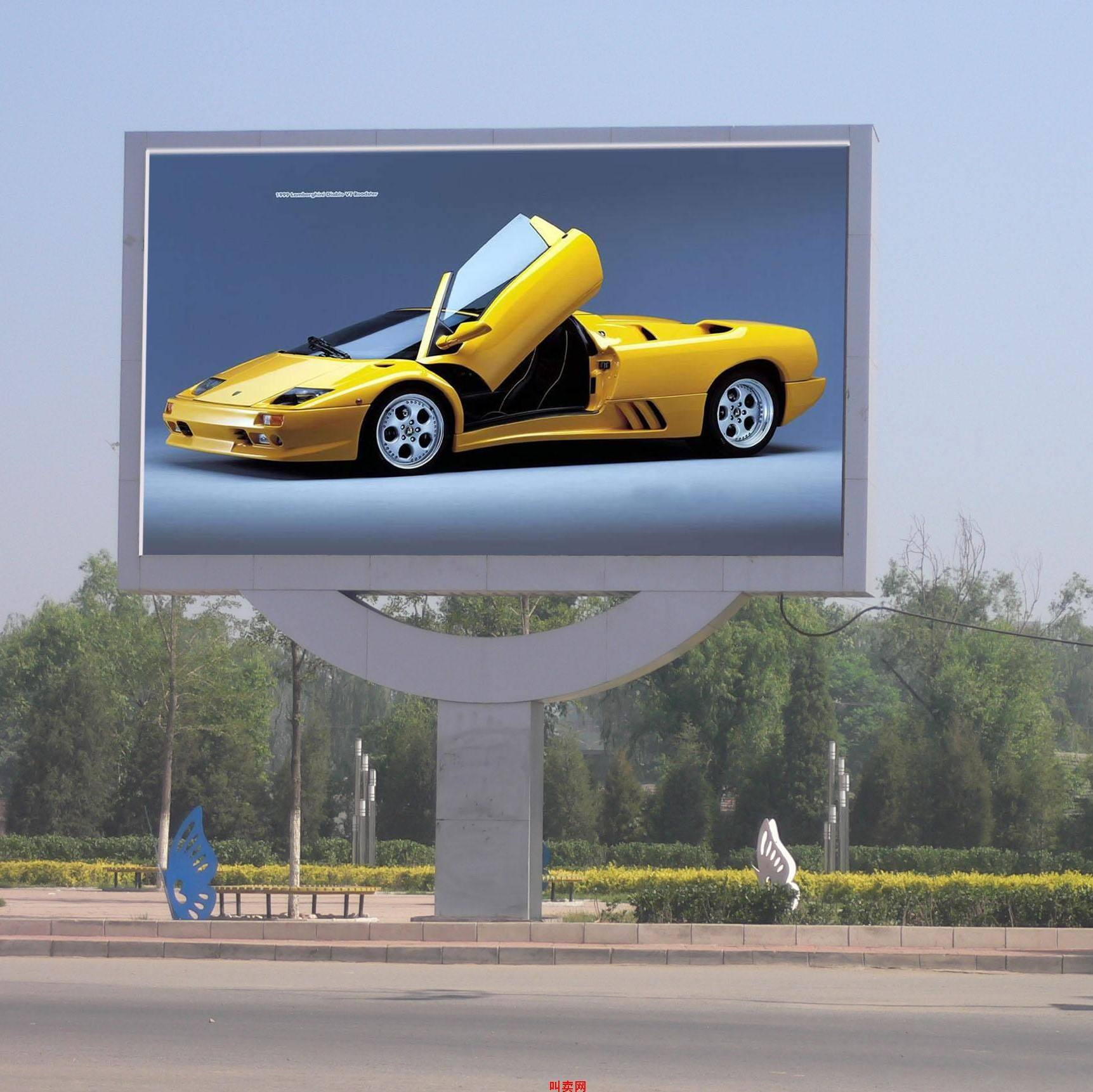Advertising Electrical Sign LED Moving Display Billboard Manufacturers