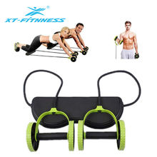 Wholesale Power Exercise Equipment Fine Workmanship Home Fitness AB Wheel With Strap
