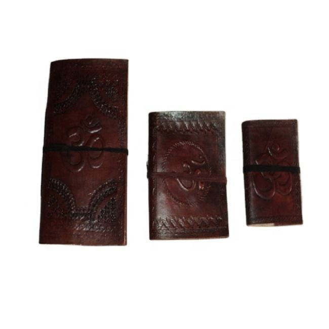 indian leather covers notebook mix match prints cheap prices set