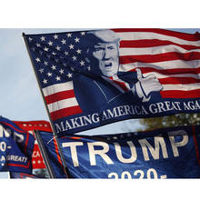 100% Polyester  Screen Printed Donald Trump for President 2020 Keep America Great Flag 3x5 Feet  TRUMP FLAG
