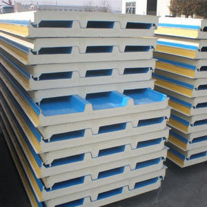 EPS sandwich panel for wall and roof clading