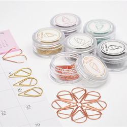 SMALL SIZE /10 Pieces Cute Paper Clips for School Office Sup