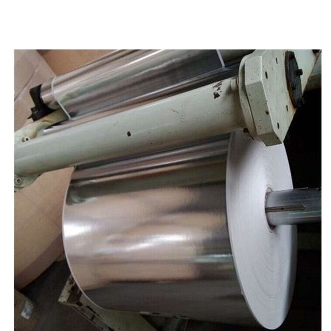 8011High quality Coated Aluminum Foil poly PE laminated aluminum foil with pe for pipe insulation