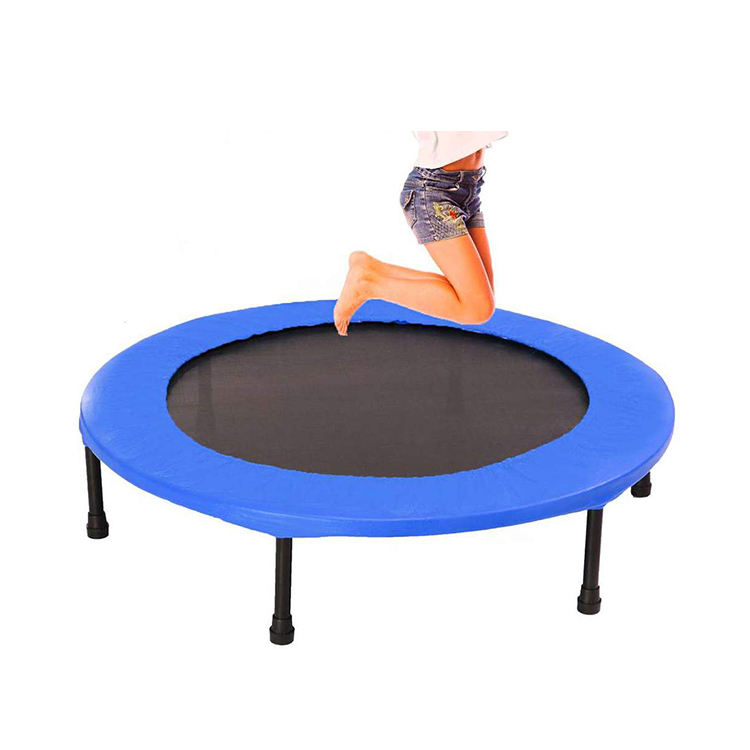 40 Inch Folding Mini Rebounder Trampoline Foldable Small Indoor Garden Fitness Trampoline
