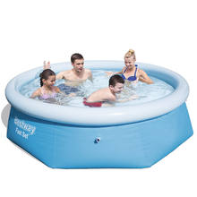 Bestway 57265 8FT. X 26IN. / 2.44M X 66CM  Fast set Tritech Material above ground Swimming Paddling Pool