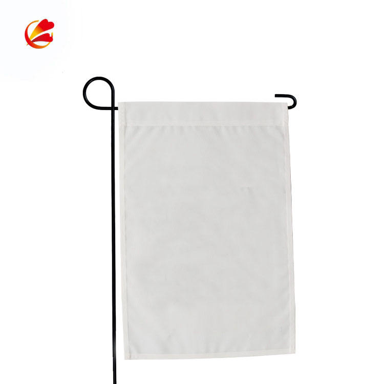 Iron [ Garden Flag ] 12x18 Blank Flags Wholesale 12x18 Inch Stock 30x45cm Sublimation Double Sided Garden Flag Blank