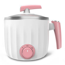 Portable home and travel electric mini hot pot,hot pot multi cooker
