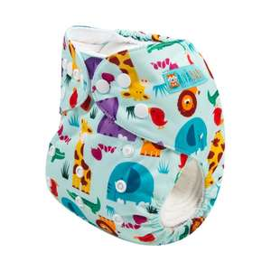 ALVABABY BABY Cloth Diaper Hot Sale Reusable Cloth Nappy