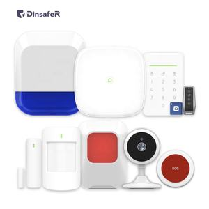 4G LTE LAN GSM alarm system security protection with app iOS Android 868MHz