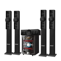 OEM RM-9145-5H High Bass 5.1 CH Tower Speakers Home Theater Surround System AUX/USB/SD/FM/REMOTE/Bluetooth/LED