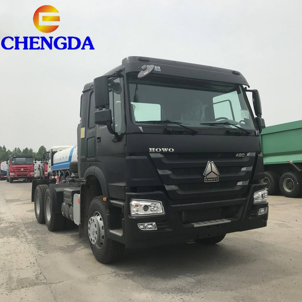 New Style Quality 6X4 HOWO & HOWO A7 Tractor Truck for sale with 1000Liters fuel tank
