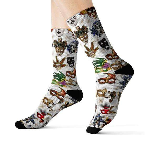 custom sublimation printed socks knitting socks for sports compression socks Pakistan manufacturers