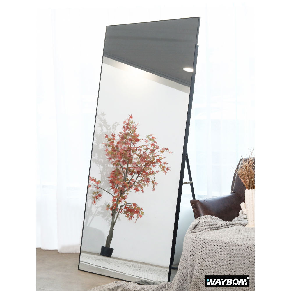 Fashion Aluminum Framed Floor Bedroom Full Length Dressing Mirror