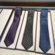 3 Colors Jacquard Fashion Personalized Full Letter Printed Silk Neckties Men