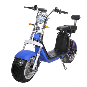 Best selling Smarda Citycoco 2000w adult electric scooters 2 seats with fat tire cheap scooter
