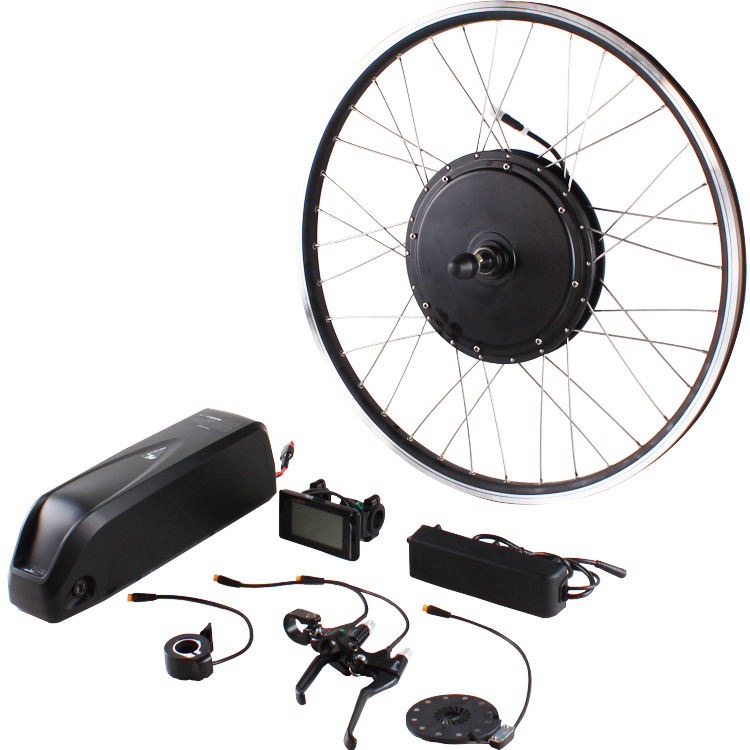 High Quality Factory Price Electric Bike Front Rear Hub Motor, 20-28 Inch 700C E-bike Ebike Conversion Kits With Battery