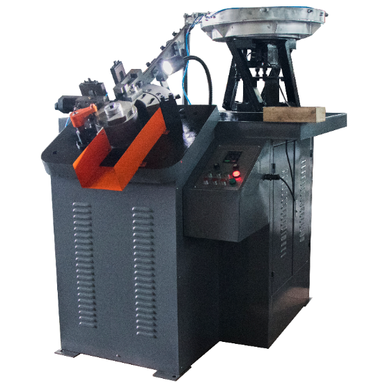 GS-100 automatic high speed nail thread rolling machine