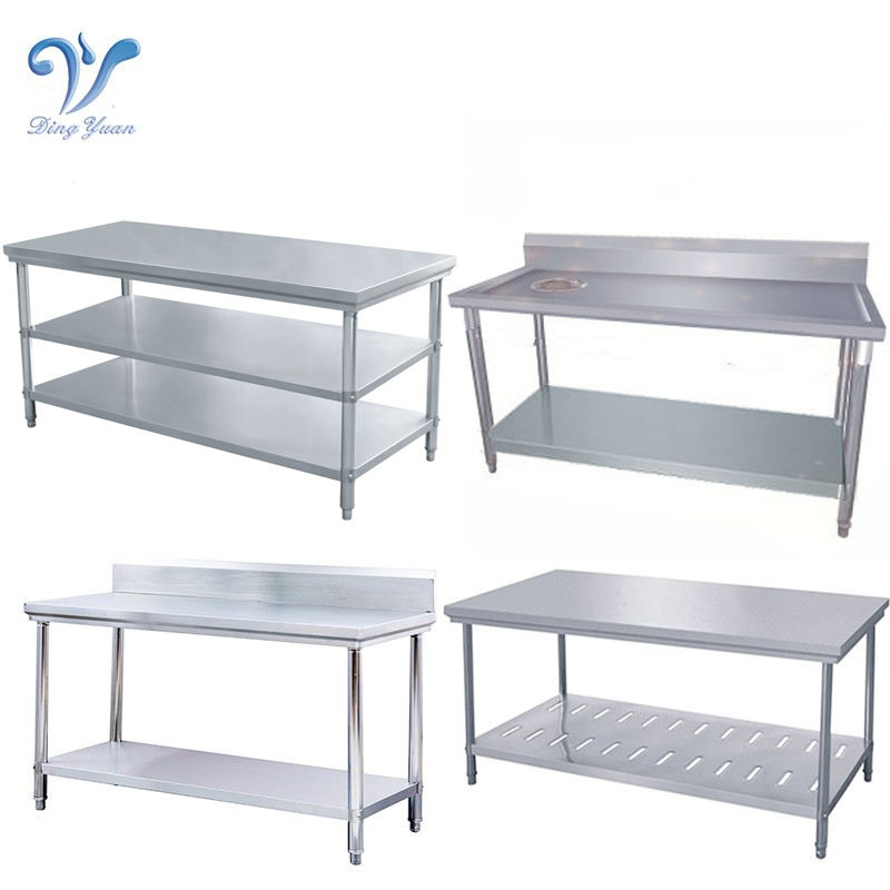 Kitchen Stainless Steel Work Table