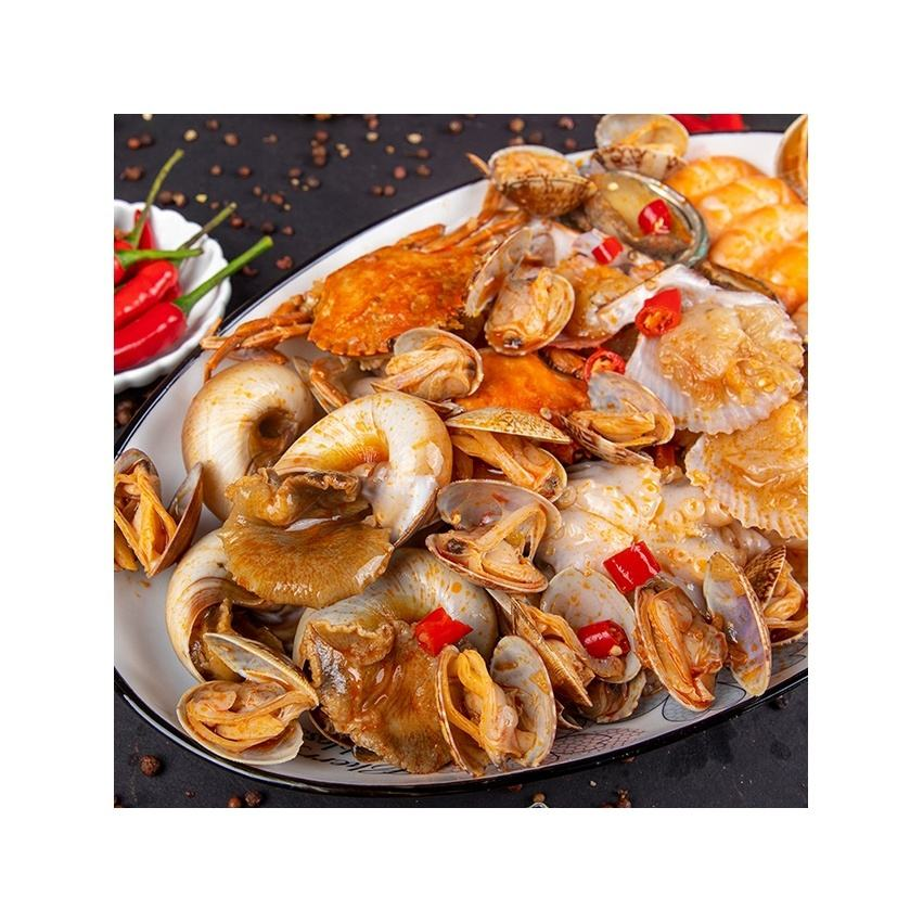Directly Heated Abalone Swimming Crab Shrimp Scallop Whelk Clam Octopus Frozen Seafood Appointment