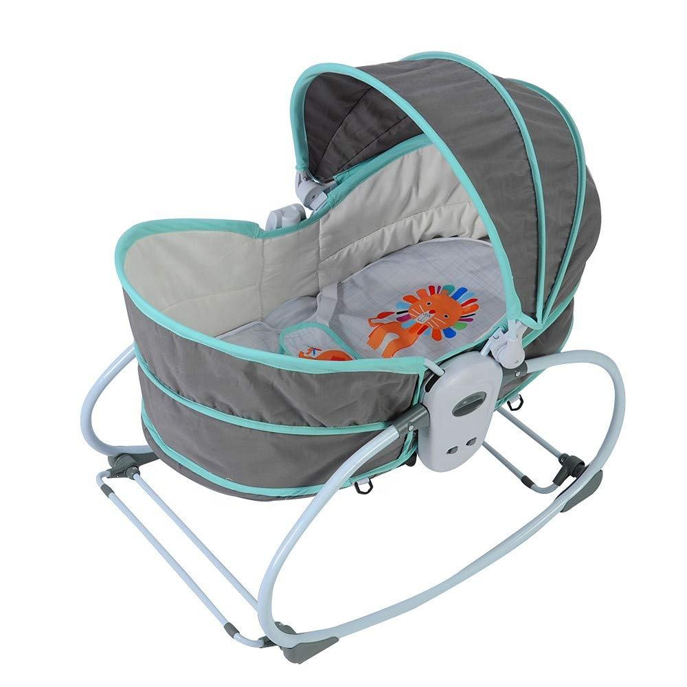 New born portable travel electric baby sleeping swing cradle bed for baby 0-3 years