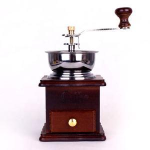 Vintage Wooden Coffee Grinders Manual Coffee Mills Stocked