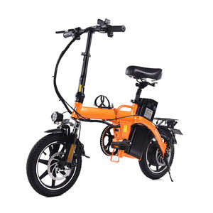 Motor Electric Bicycle Frame Aluminum Alloy 48v 12Ah Lithium 350w ebike LED Light high Speed Front Drum Brake Rear Disc