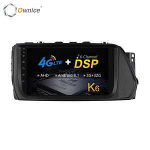 Ownice 6 DSP Canal MP3 Flash MP5 DAB + Rádio Do Carro Sistema De Som DVD Player Para Hyundai Verna 2017
