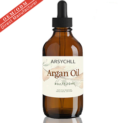 2020 Wholesale approved OEM logo  argan oil pure organic natural smooth and Shiny hair serum