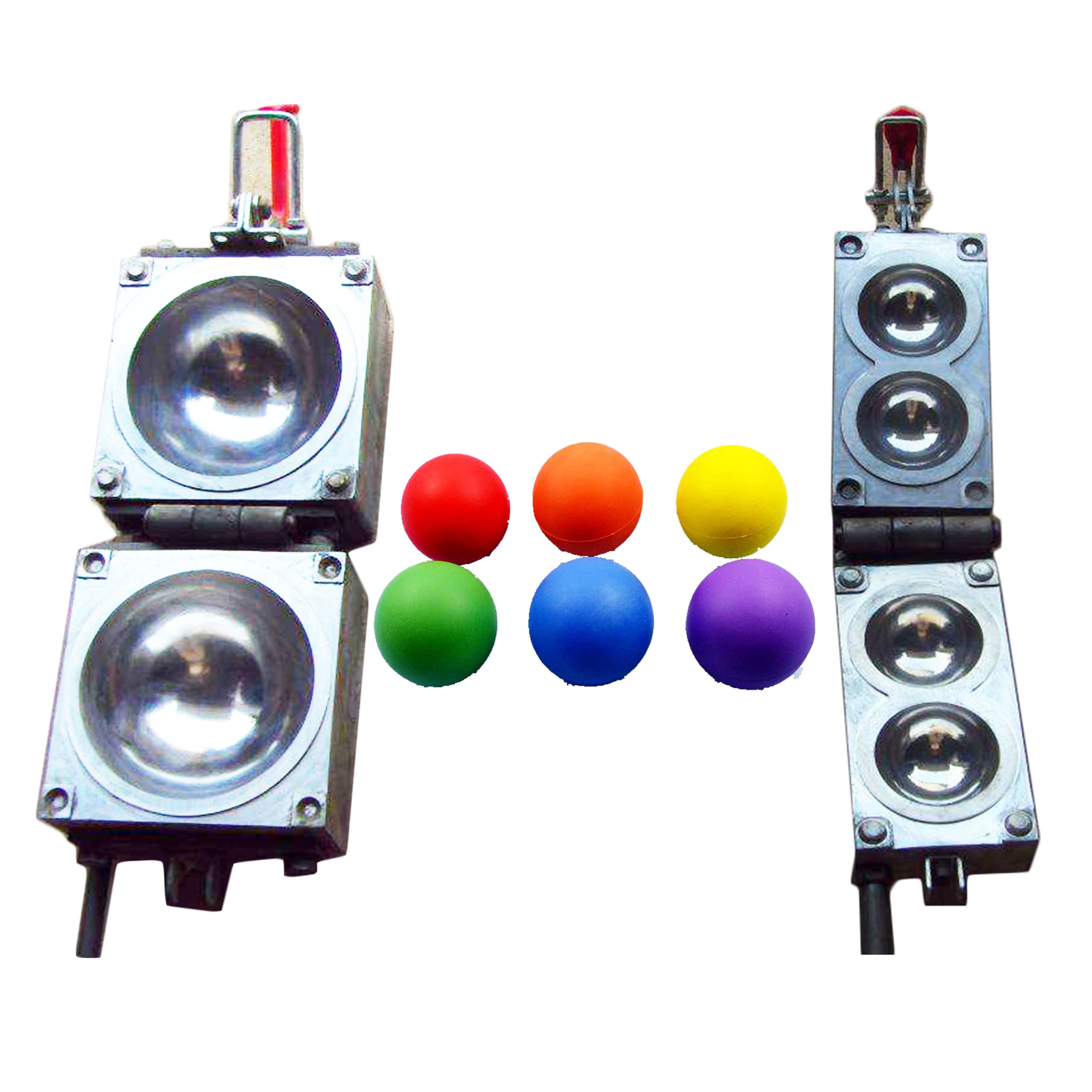 China New Customized Foam Balls Making Machine PU Aluminium Casting Mould