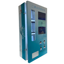 Bill Operated Mask Vending Machine for facial mask socks hair band light package  with 6 Selection KN95 mask dispenser